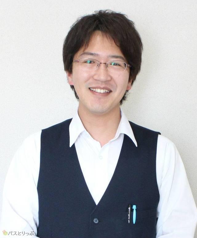 バスドライバー歴半年の中村拓未さん(28)