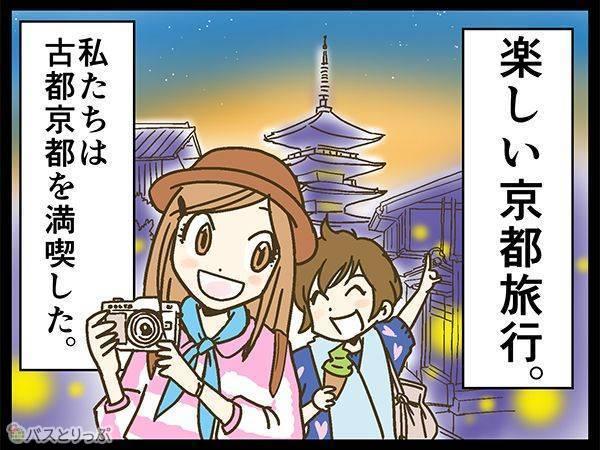 楽しい京都旅行。私たちは古都京都を満喫した。