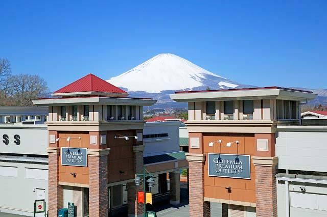 首都圏から90分、富士山の絶景も楽しめる御殿場プレミアム・アウトレット