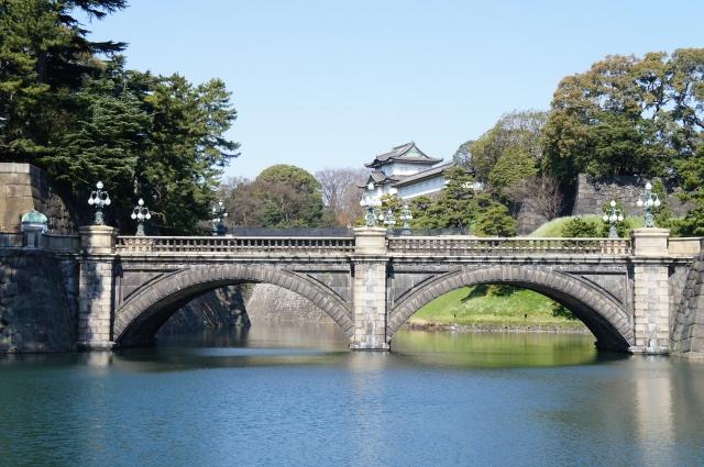 東京 皇居(こうきょ)