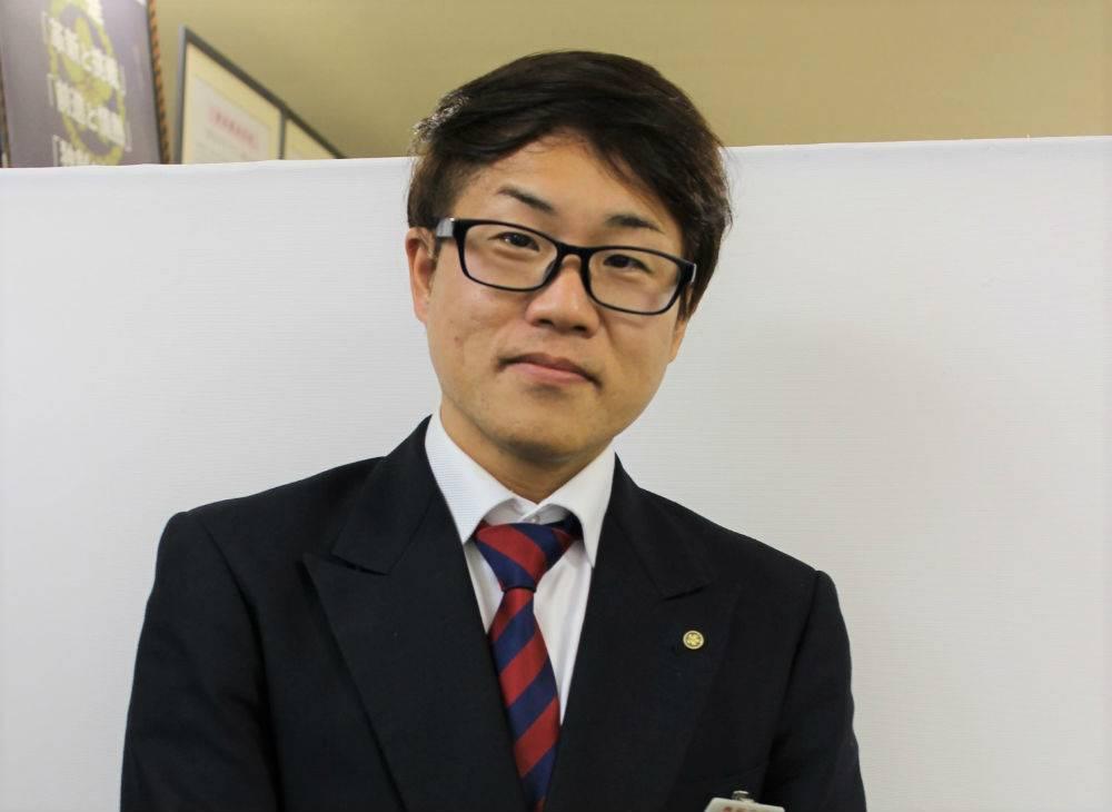 バスドライバー歴4年以上の後上幸史さん(44)