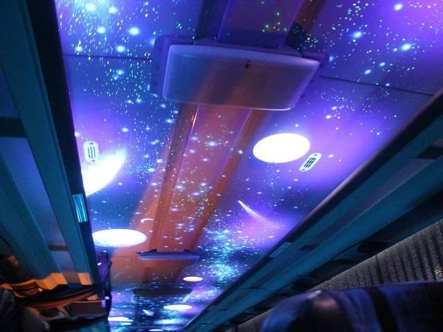 宇宙の惑星が描かれた天井.jpg