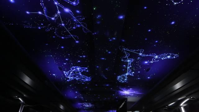 星座模様の天井