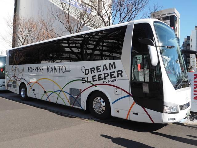 ドリームスリーパー外観関東バス