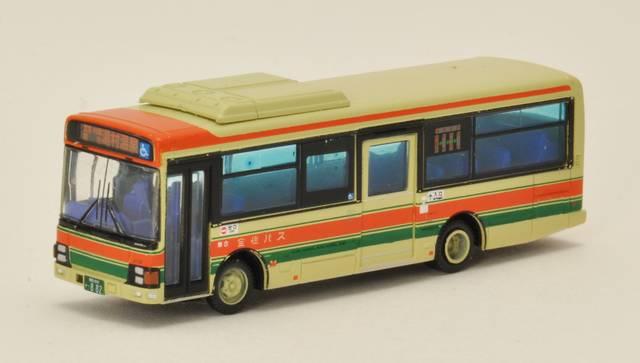 全但バスの1/150サイズ