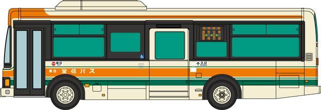 全但バス いすゞエルガミオ ワンステップバス
