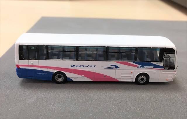 西日本ジェイアールバスの1/150スケール