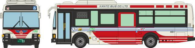 関東バス(東京) いすゞエルガミオ ノンステップ