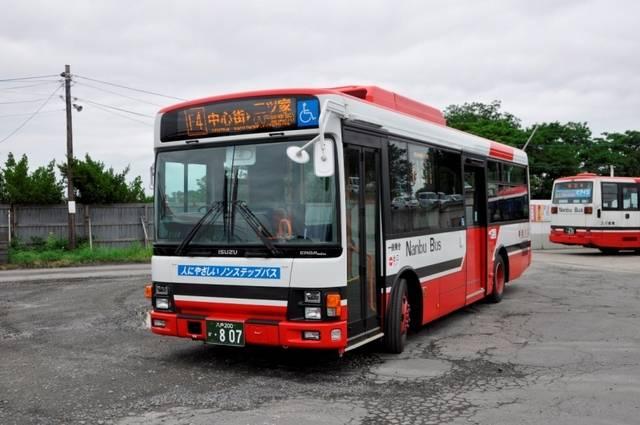 南部バス(青森県) いすゞエルガミオ ノンステップ