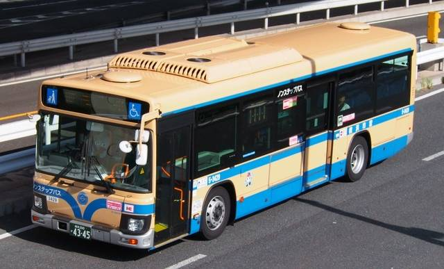 横浜市交通局(神奈川県)日野ブルーリボン ノンステップバス