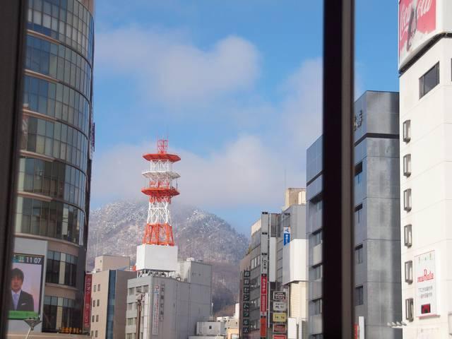 長野駅2階からの素晴らしい眺め