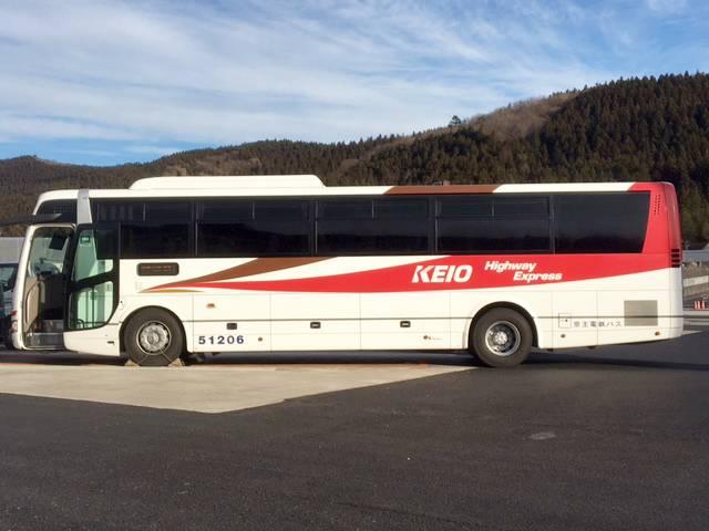 今回乗車した京王バス