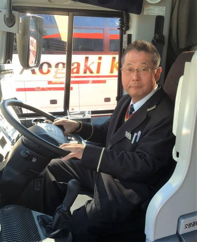 バスのドライバー歴26年の山田さん(52)