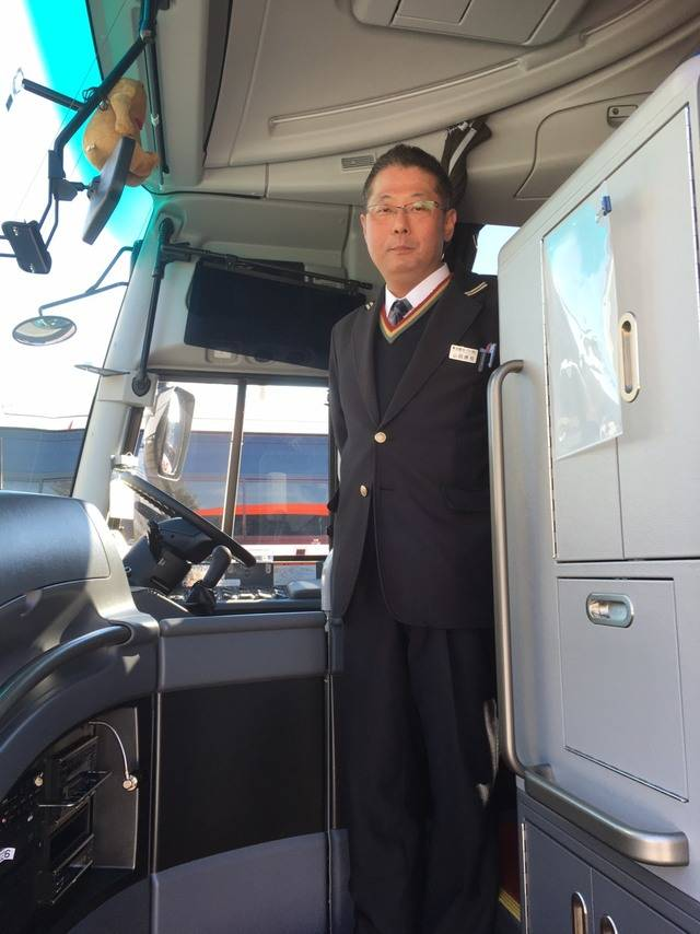山田さんからバス運転手の誇りが随所に感じられました