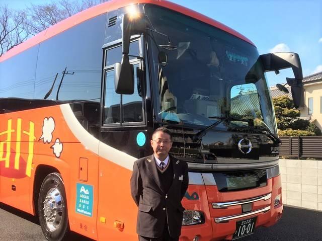 バス運転手への思いを語ってくれた山田さん