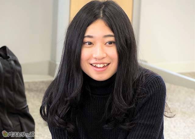 金子さんが最近一番うれしかったことは「留学先の友達と再会できたこと」