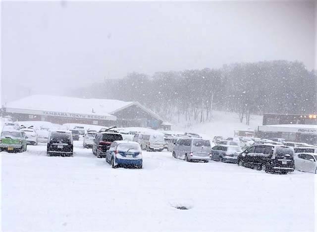 予想以上に激しい降雪