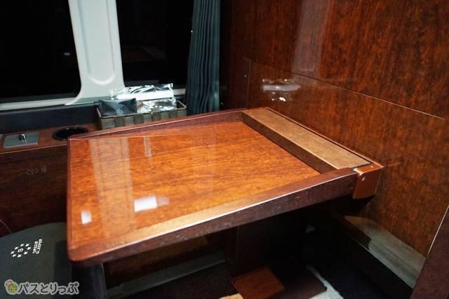 ドリームスリーパーのテーブル