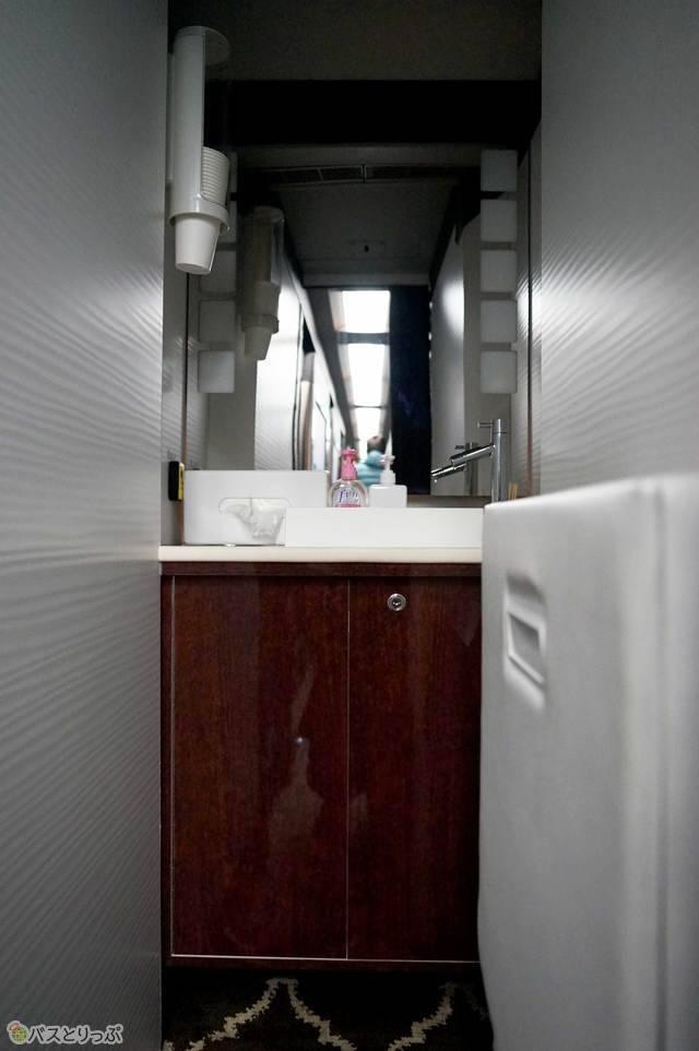 ドリームスリーパーのパウダールーム