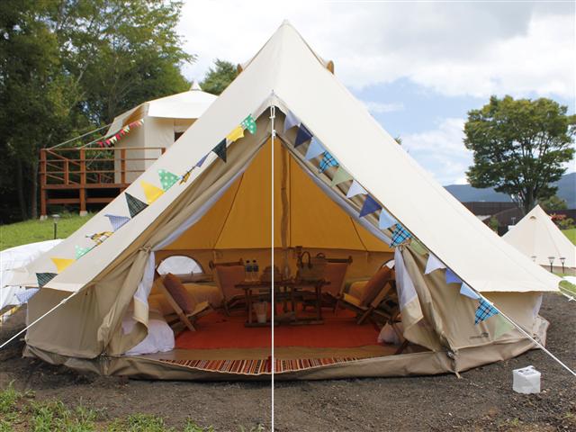宿泊体験型グランピング施設「el colina」