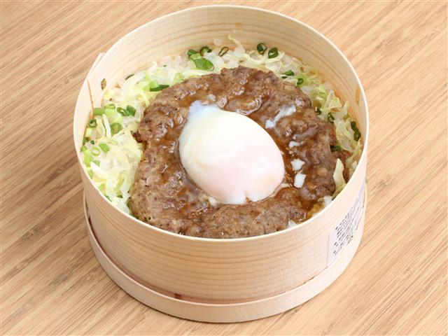 足柄牛つくねわっぱ(1,050円)