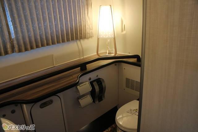 ホテルの化粧室みたい!