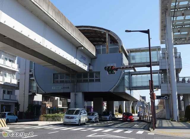 ナゴヤドーム前矢田駅に到着! ここまでくればナゴヤドームまであとひと息です!