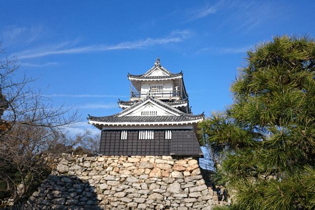 浜松城の石垣のどこかにハート型の石があるという噂も