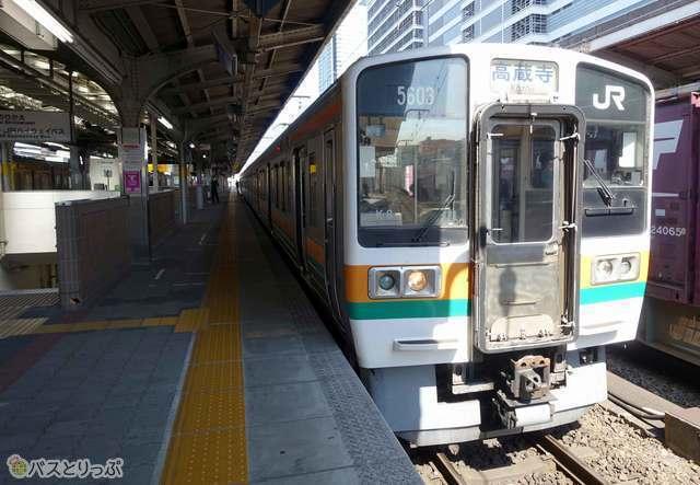 中央線はJR名古屋駅7・8番線から発車です