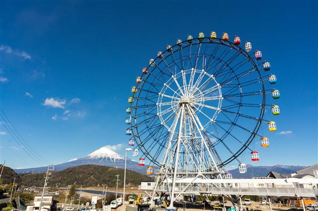 富士市街地や駿河湾、富士山を一望できる