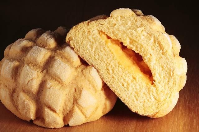 まさにメロンづくしのプレミアムメロンパン