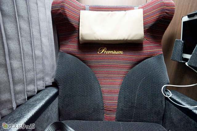 Premiumシートはドリーム号最高のプレミアムなシート