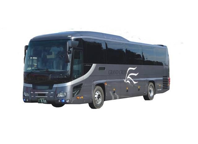 泉観光バスの新車両「GRAND CRUISE NETWORK 801便」