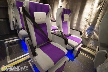 WILLER EXPRESS(ウィラーエクスプレス)3列独立シート「コモド」に大満足! 高速バスのシートが贅沢なプライベート空間に