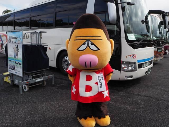 東京バスのオリジナルキャラクター「バスゴリ」
