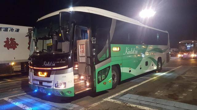 近鉄バスが運行する夜行バス「ひなたライナー」