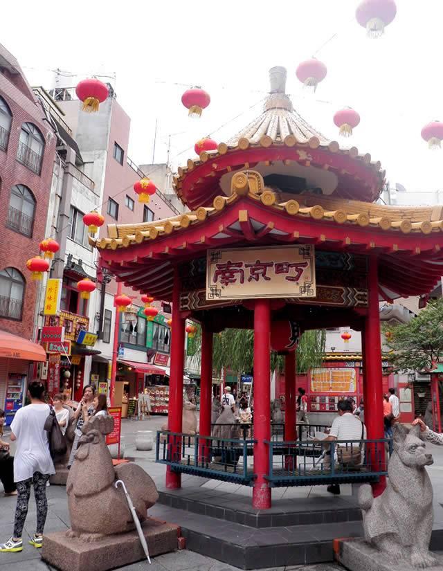 神戸中華街1(神戸ベイエリアと神戸牛丼の広重)