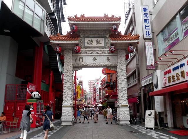 神戸中華街2(神戸ベイエリアと神戸牛丼の広重)