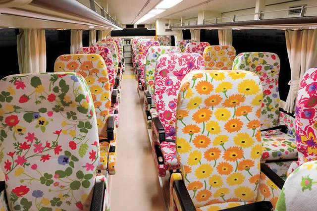 花柄シートが特徴の「スリーパー」