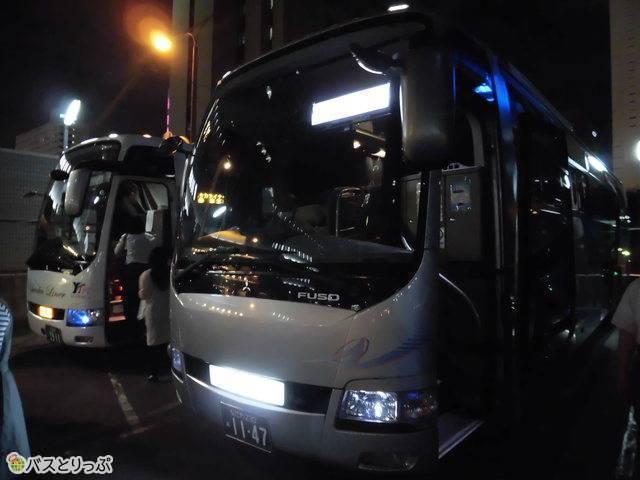 運行するバス会社も便によって変動