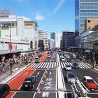 Shinjuku's streets