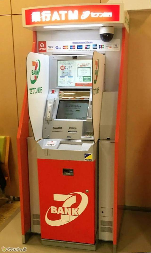 You can withdraw money with ATM even in case of sudden
