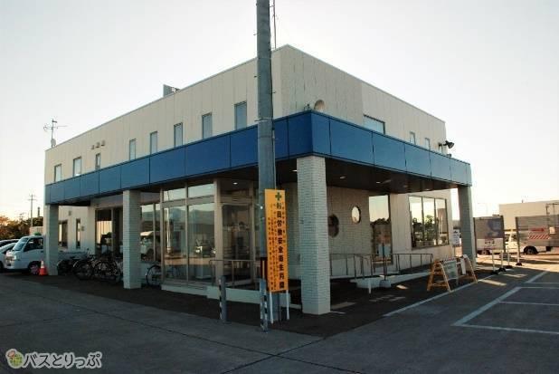 青函フェリーのターミナル