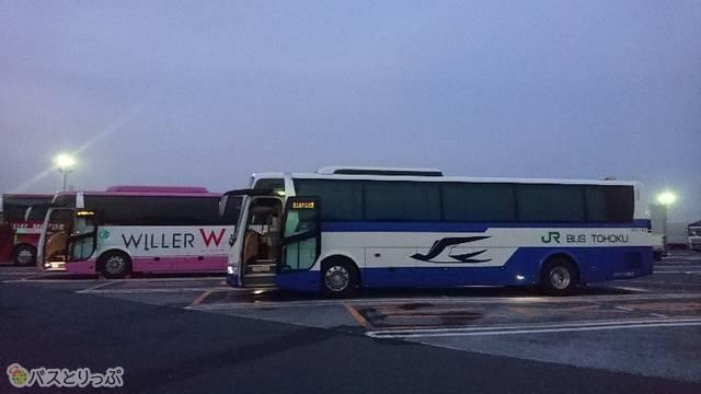 寝ぼけてバスを間違えないように。私のことですが。