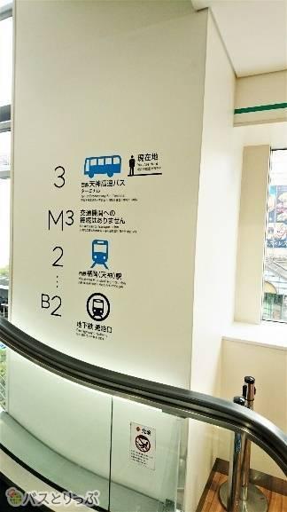 駅直結で交通の便もいいターミナルです。