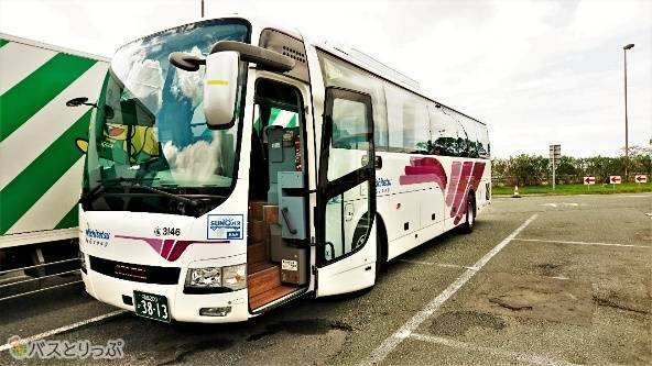 今回、乗車した桜島号。