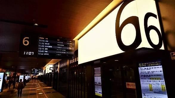 西鉄天神高速バスターミナルのデザイン、施設の充実度は素晴らしい