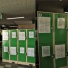 コインロッカーはゆいレール「旭橋駅」の改札を出たところにあります