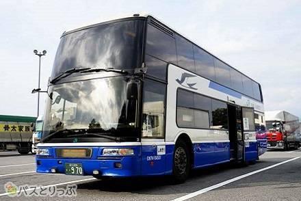 JR高速バス昼便「中央道昼特急号」に乗車! 【東京~大阪】 2階建て3列独立シートの乗り心地は?