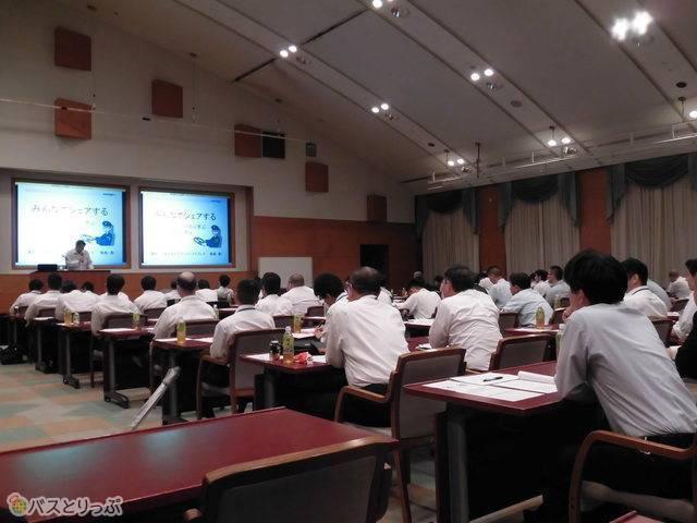 桜交通の乗務員研修